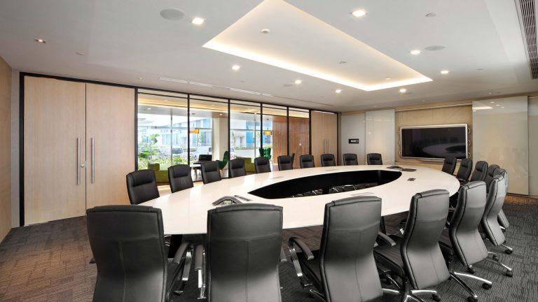 Boardroom Interior Design for Hsl