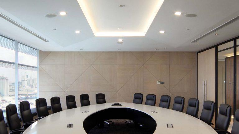 Boardroom Office Interior Design at Hsl Office