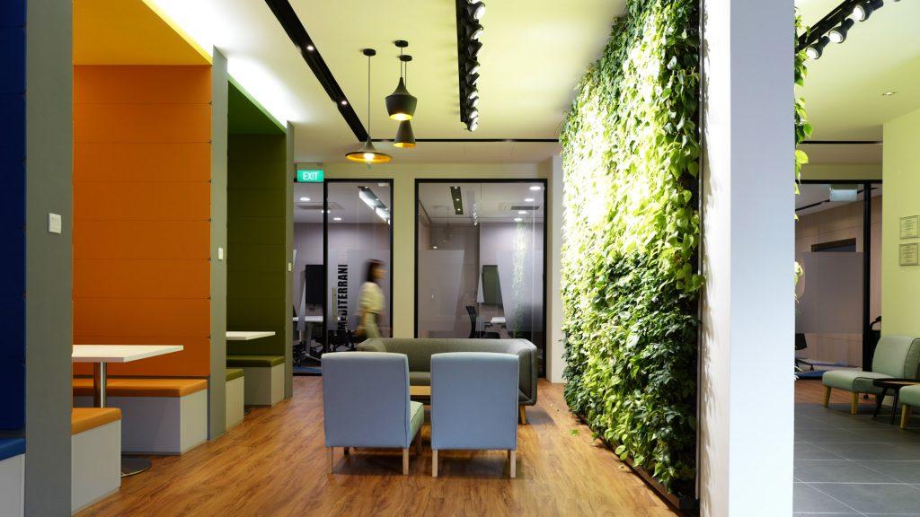Collaboration Spaces Design at Sanli