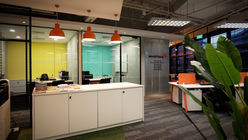 Commercial Interior Design Worldvision Office