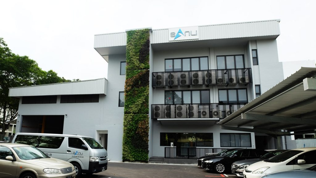 Facade Office Design at Sanli