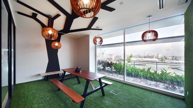 Interior Design Meeting Spaces at Hsl Singapore