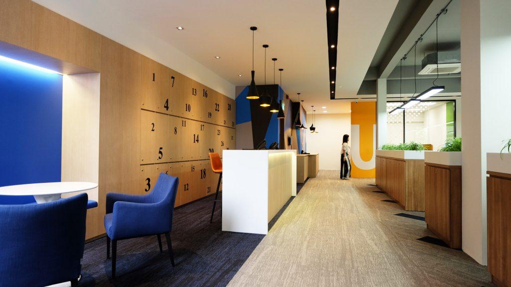 Interior Design Office Space at Sanli