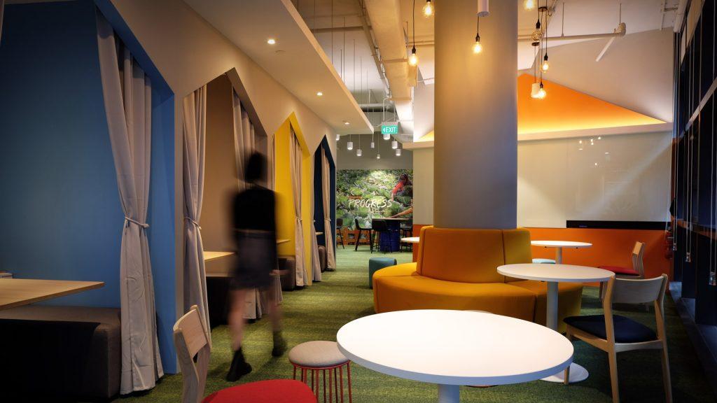 Interior Design Worldvision Office