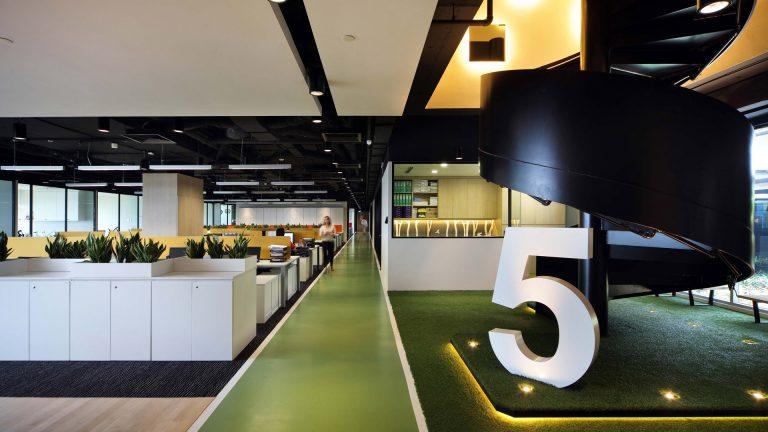 Interior Design with Spiral Stairs Hsl