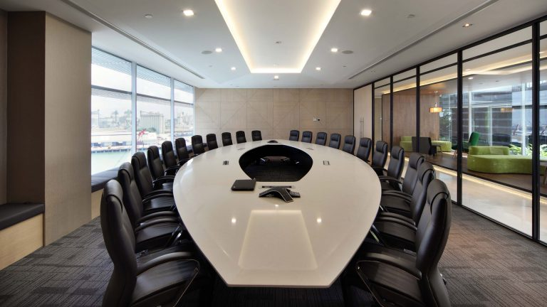 Meeting Room Interior Design for Hsl Office