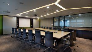 Office Design Boardroom at Vopak