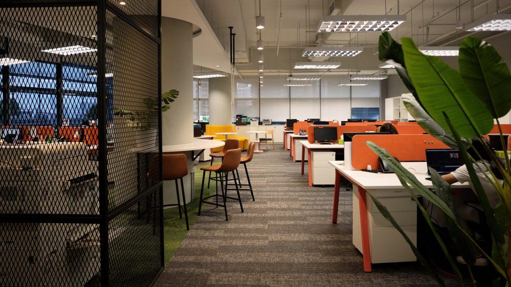 Office Interior Design Worldvision Singapore