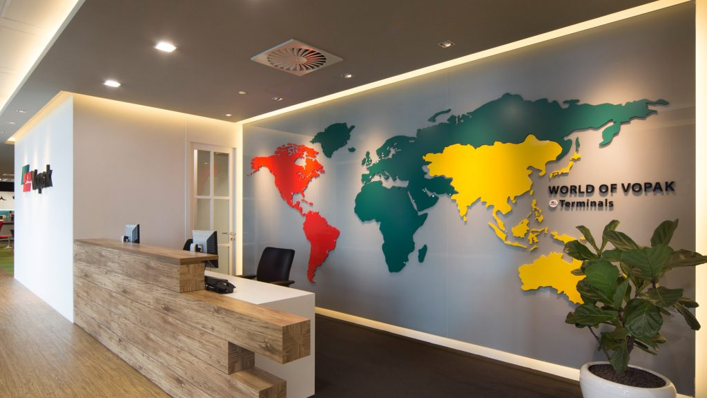Office Reception Interior Design Vopak