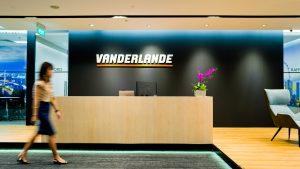 Singapore Office Interior Designer for Vanderlande