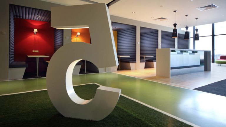 Workplace Design at Hsl Singapore Office
