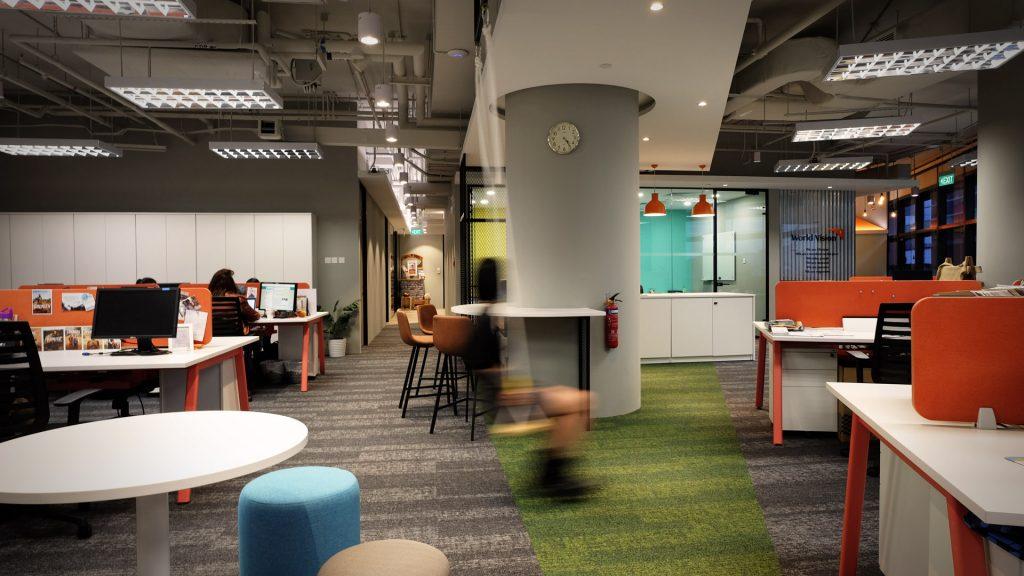 Worldvision Office Interior Design Singapore