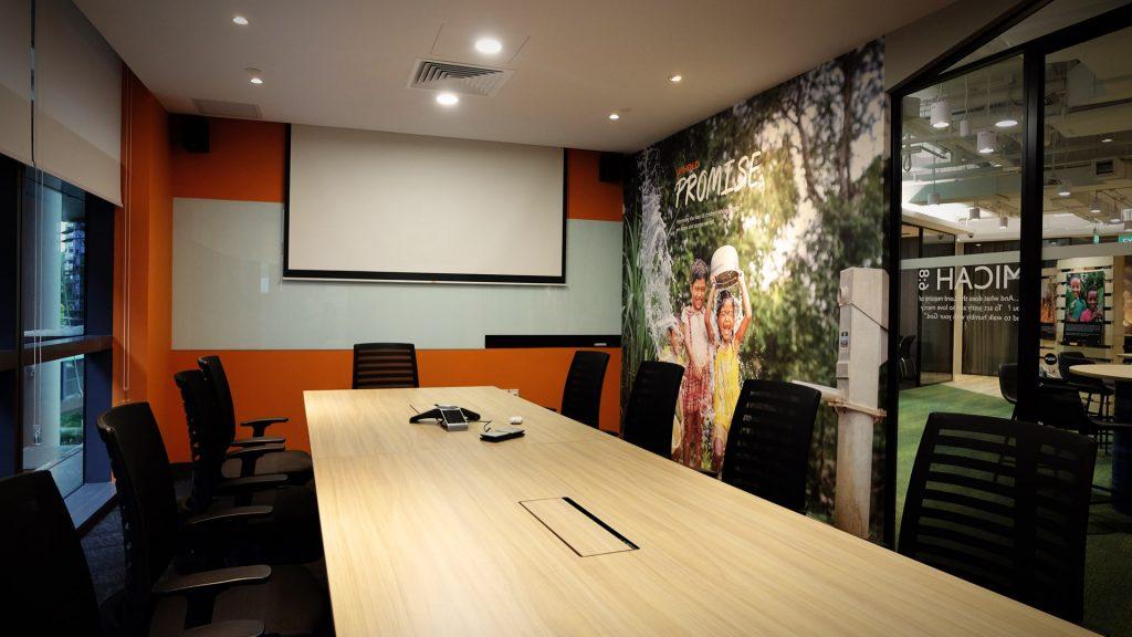 Worldvision Singapore Office Design